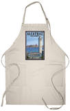 Alcatraz Island and City - San Francisco, CA Apron Apron