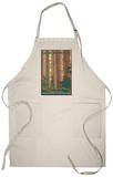 Giant Redwoods, Redwood National Park, California Apron Apron