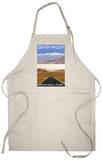 Death Valley National Park, California, Highway Scene Apron Apron