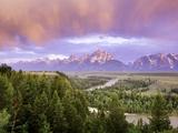 Grand Teton nasjonalpark Fotografisk trykk av Art Wolfe