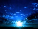 Ich liebe Blau Fotografie-Druck von Philippe Sainte-Laudy