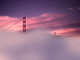 San Francisco Fog Photographie par Philippe Sainte-Laudy