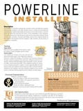 Powerline Installer - Educational Poster Print
