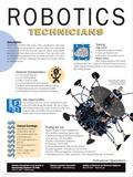 Robotics Technician - Educational Poster Posters