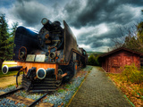 Steam Train I Photographic Print by Nejdet Duzen
