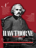 Nathaniel Hawthorne, American Authors Bio Timeline Poster