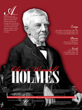 Oliver Wendell Holmes - Educational Poster Prints