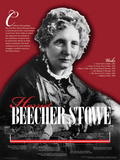 Harriet Beecher Stowe - Educational Poster Poster
