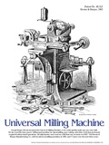 Universal Milling Machine - Educational Poster Prints