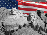 Mount Rushmore Photographic Print by Philippe Sainte-Laudy