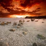 Rød himmel Fotografisk trykk av Philippe Sainte-Laudy