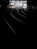 Montparnasse Railway Station in Paris Photographic Print by Philippe Manguin