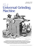 Universal Grinding Machine - Educational Poster Prints
