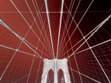 Pont de Brooklyn, New York Photographie par Philippe Sainte-Laudy