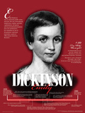 Emily Dickinson - Educational Poster Juliste