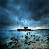 Mistérieux Bleu Impression giclée par Philippe Sainte-Laudy