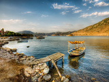 Boat and Jetty Photographic Print by Nejdet Duzen