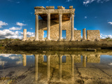 Sacred Way and Ionic Stoa at Miletus Photographic Print by Nejdet Duzen