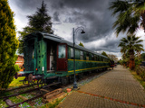 Steam Train Iv Photographic Print by Nejdet Duzen