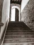Monastery Stairway Reproduction photographique par Marco Carmassi