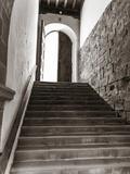 Marco Carmassi - Monastery Stairway Fotografická reprodukce