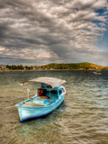 Turquise Boat Photographic Print by Nejdet Duzen