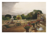 The Parterre, Harewood House, Nr. Leeds - The Seat of the Rt Honourable Earl of Harewood Giclee Print