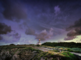 Les Poulains Lighthouse Photographic Print by Philippe Manguin