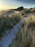 Bamburgh Dunes Fotografisk tryk af Doug Chinnery