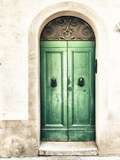 Green Door Photographic Print by Marco Carmassi