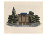 Oriental boat house Giclee Print by Johann Gottfried Grohmann