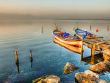 Morning Light on the Boat Photographic Print by Nejdet Duzen