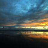 Vendée Sunset Fotografisk trykk av Philippe Manguin