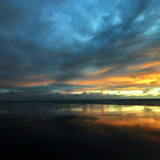 Vendée Sunset Fotodruck von Philippe Manguin