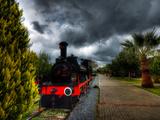 Steam Train IIi Photographic Print by Nejdet Duzen