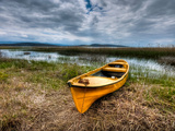Yellow Boat Photographic Print by Nejdet Duzen