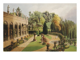 The Colonnade, Alton Gardens - The Seat of the Right Honourable the Earl of Shrewsbury Giclee Print
