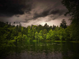 Harmaa-vihreä Valokuvavedos tekijänä Philippe Sainte-Laudy