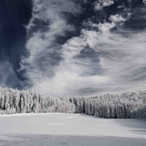 Snowy Sky Photographic Print by Philippe Sainte-Laudy