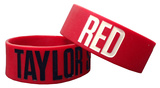 Taylor Swift RED Rubber Bracelet Bracelet