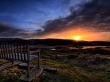 The Bench Fotografisk trykk av Doug Chinnery