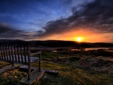 The Bench Photographic Print by Doug Chinnery