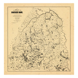 1896, Northern Maine Giclee Print