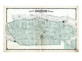 1878, Ameliasburgh Township, Rednerville Village, Canada Giclee Print
