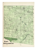 1878, Gwillimbury - East, Canada Giclee Print