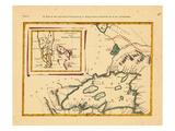 1778, Florida, Michigan Giclee Print