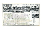 1875, Hamilton City - Wards 5, 6, Canada Giclee Print