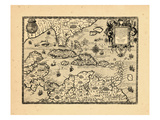 1594, West Indies Giclee Print