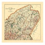 1905, Moosehead Lake, Maine Giclee Print