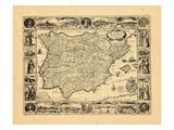 1617, Portugal, Spain Giclee Print